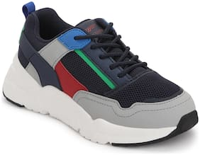 Red Tape Navy Blue Unisex Kids Sport shoes