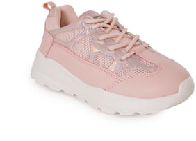 Red Tape Pink Unisex Kids Sport shoes