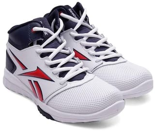 15b7fffdfbf1 Buy Reebok White Sport shoes for boys Online at Low Prices in India ...