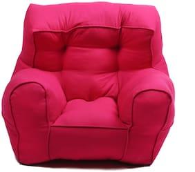 Reme Cotton Comfortable Sofa Kid's Sofa (Pink)