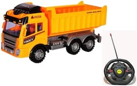 Remote Control Truck Dumper Construction Toy (Big Size 26 cm)
