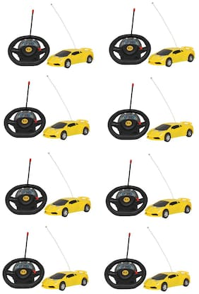 Remote Control steering Car For Kids Pack 8
