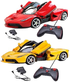 Remote control Rechargeable Car 1:16 scale With Opening Doors( pack of 2)
