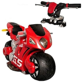 Remote Control Motorbike, 2.4Ghz 1:8 Scale Gravity Sensor Simulated Accelerated Throttle and Brake 4D Moto System 180 Degree Drift (Ass