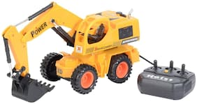 Remote Control Jcb Construction Loader Excavator Truck Toy
