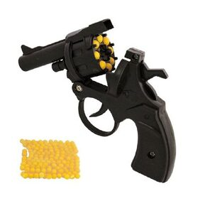 Revolver Toy Gun with 100 BB Bullets