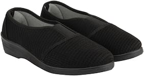 Rex Black Girls Casual Shoes