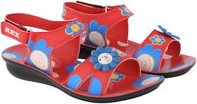 Rex Red Girls Slippers