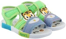 Rex Green Sandals For Infants