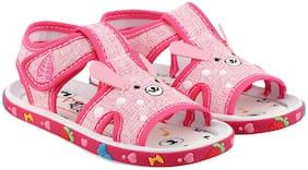 Rex Pink Sandals For Infants