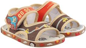 Rex Beige Sandals For Infants