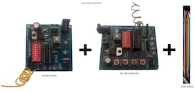 RF Wireless Encoder & Decoder Board With HT12D & HT12E IC For 315/433/434/435/866 ASK Modules