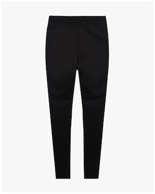 2ab4c26019dce Buy RIO GIRLS By Reliance Trends Girl Polyester Trousers - Black ...