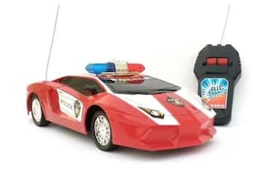 Roadstar Police Remote Control Car