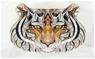 Roar Tiger sticker - Tiger stickers - Tiger sticker for room - tiger - Tiger wall stickers