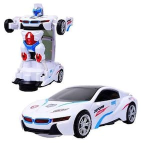Robot to Car Converting Transformer Toy For Kids In Assorted Color By Signomark.
