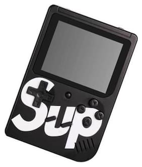 Roeid SUPx 400 in 1 Classical Retro Games Box 3.0 Inches TFT Screen Inbuilt Memory- 8 GB Console Handheld Game Pad (Black)