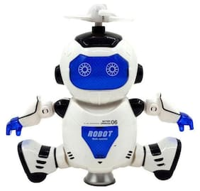 Rotating Robot Toy for Kids