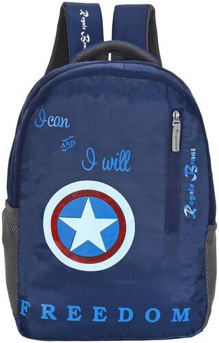 Royale Beast 45 Lt Navy Blue Casual School Bag | Backpack | bagpack(RB108)