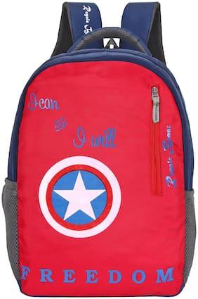 Royale Beast 45 Lt Red & Navy Casual School Bag | Backpack | bagpack(RB107)