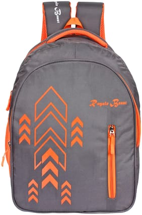 Royale Beast Grey Polyester 41 Ltr School Backpack II Casual Backpack II Laptop Bag (RB101)
