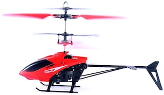 Royaltail 2-in-1 Exceed Induction Flight Toy Helicopter with 3D Flight with Cool LED Lights for Kids (Indoor and Outdoor)