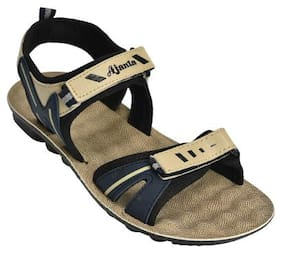 Ajanta Beige Boys Sandals