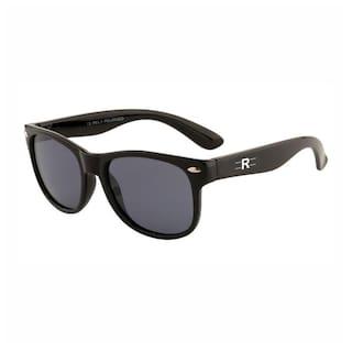 Rozior Black Kids Poarized Sunglass with UV Protection Black Lens with Black Frame, MODEL: RWPPK101C1