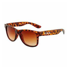 Rozior Tortoise Kids Sunglass with UV Protection Brown Lens with Tortoise Frame , MODEL: RWUK1028C7