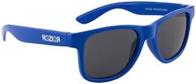 ROZIOR ITALY Classic UV400 Wayfarer Kids Sunglasses Model ID-RWUK1028C4