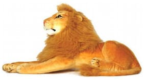 S S MART LION SOFT TOY 32CM