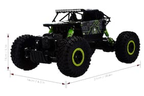 Webby 2.4Ghz Remote Controlled Rock Crawler, RC Monster Truck 4WD, Off Road Vehicle