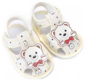 Enso Yellow Sandals For Infants