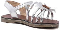 Enso Silver Girls Sandals