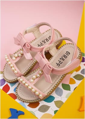 Enso Pink Girls Sandals