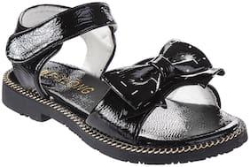 Enso Black Girls Sandals