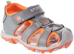 Enso Orange Boys Sandals