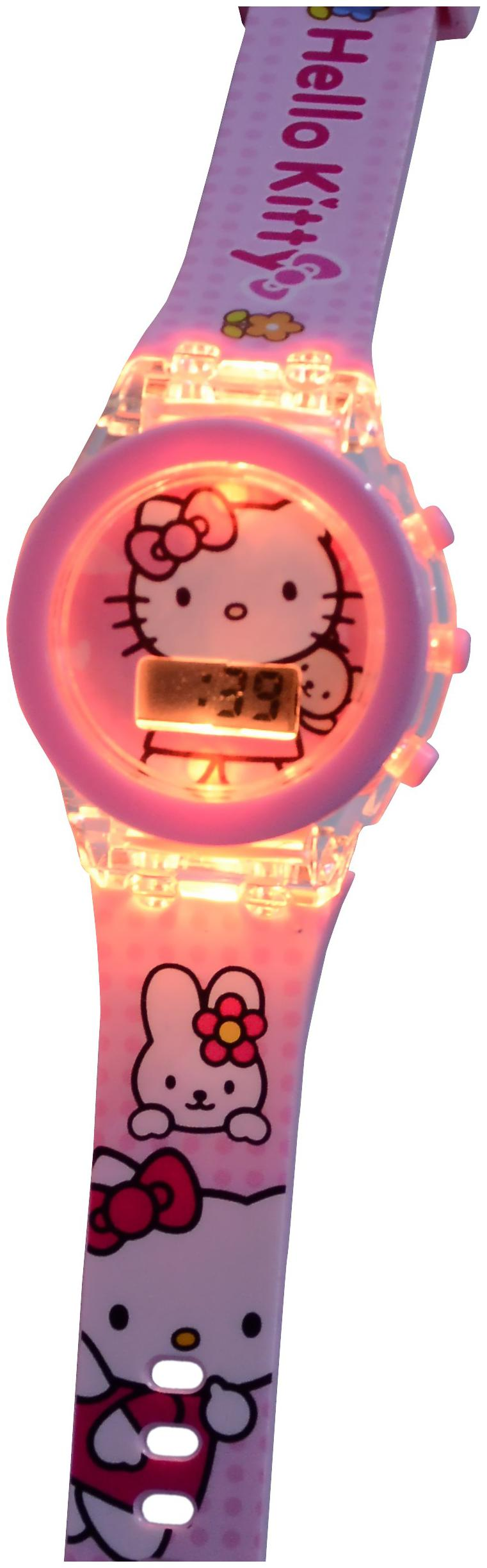 Sandbox Party Hello Kitty Glowing LED Watch  Pack of 1