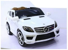 Sani International Licensed Mercedes-Benz White battery operated car