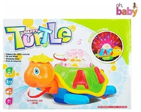 Sani International Musical Happy Dancing With 3d Lights Turtle