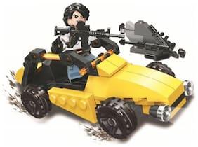 Sanyal 95 Pcs Player Battleground Mission Theme 3D Bricks Block Set Building Toy for Kids  (Multicolour)