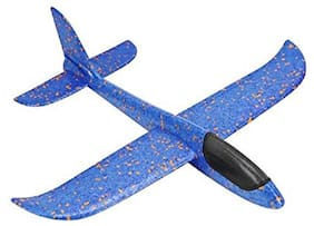 Sanyal Airplane / Aeroplane Gliders Toy  Throwing Foam Flying Aircraft  Dual Flight Mode Plane Toy   Pack of 1 (Multicolour)