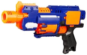 Sanyal Blaze Strom Automatic Soft Bullet Battery Operated Gun For Kids- 20 Bullets (Multicolour) - 1 pcs Pack