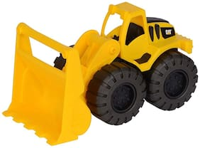 Sanyal Friction Powered Excavator Construction Toy Truck with Light and Sound Feature (Bulldozer)   Multicoloured