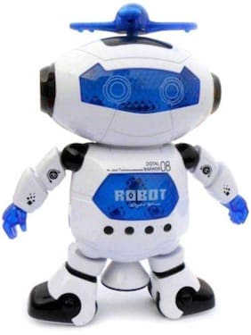 Sanyal Naughty Musical Dancing Robot with Lights And Very Attractive Musical Gift For Kids