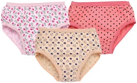 Savage Panty & bloomer for Girls - Multi , Pack of 3
