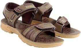 SEALITE Brown & Beige Boys Sandals