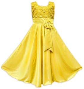 Yellow Princess Frock