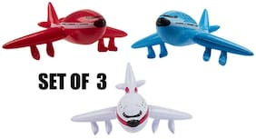 "(Set of 3) 22"" Jet Airliners - Inflatable - Inflate Blow Up Toy Party Decoration"