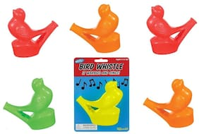 Set of 6 Warbling Bird Whistles Party Favors Speech Therapy Tool